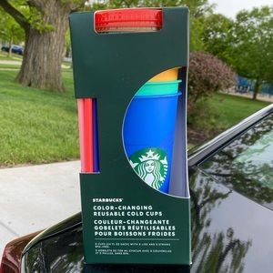 Starbucks color changing cups pack
